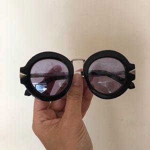 Karen Walker Superstar Sunglasses Mirror Lens Used